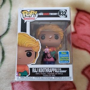 Funko pop Raj Koothrappali as Aquaman #832